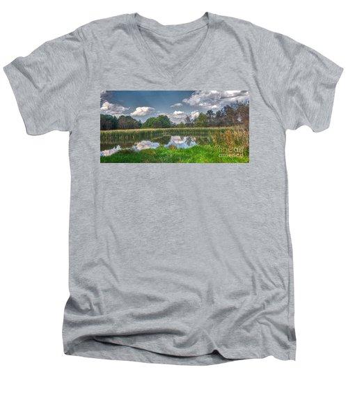 Ellis Pond Men's V-Neck T-Shirt