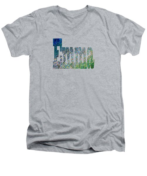 Emma Men's V-Neck T-Shirt