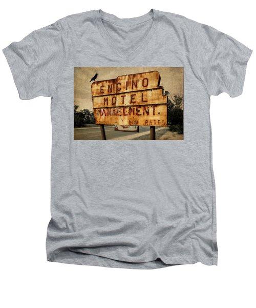 Encino Hotel Men's V-Neck T-Shirt