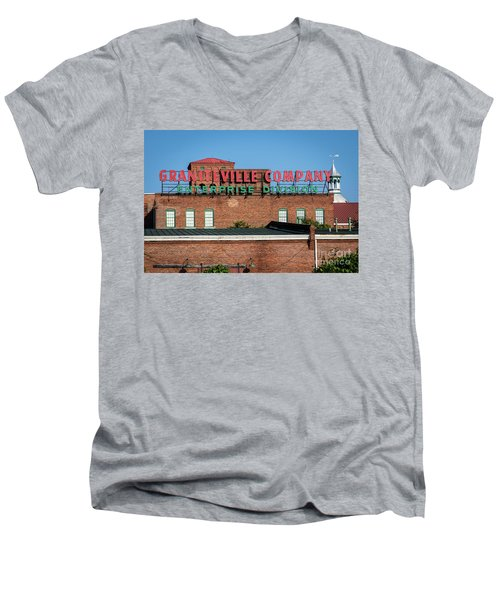 Enterprise Mill - Graniteville Company - Augusta Ga 1 Men's V-Neck T-Shirt