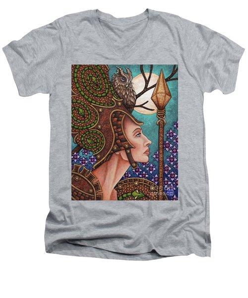 Exalted Beauty Athena Men's V-Neck T-Shirt