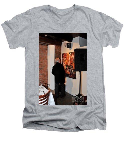 Exhibition - 08 Men's V-Neck T-Shirt