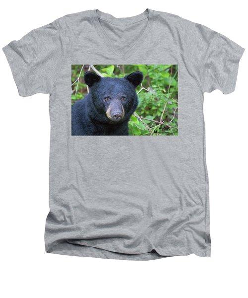 Expressive Eyes Men's V-Neck T-Shirt
