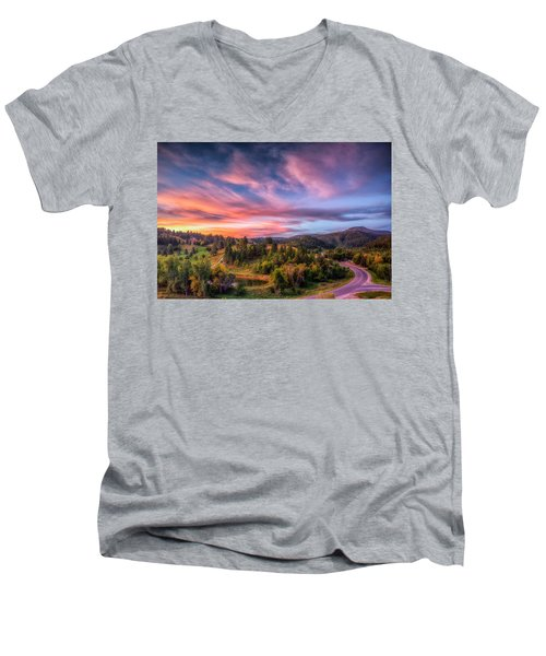 Fairytale Morning Men's V-Neck T-Shirt
