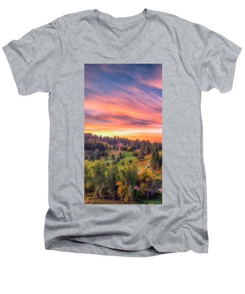 Fairytale Triptych 1 Men's V-Neck T-Shirt