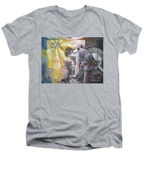 Faithful Servant Men's V-Neck T-Shirt