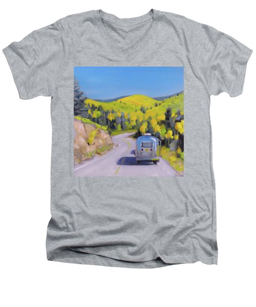 Fall Road Trip Men's V-Neck T-Shirt