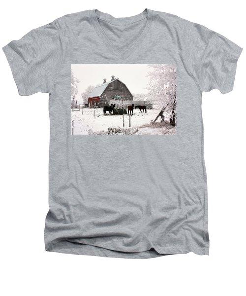 Feed Men's V-Neck T-Shirt