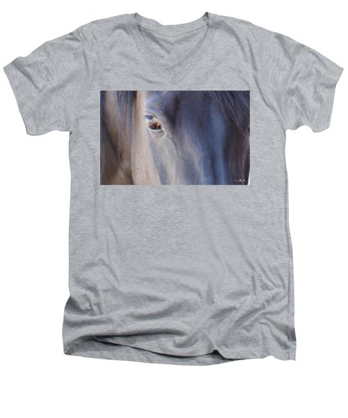 Fenced Foal Men's V-Neck T-Shirt
