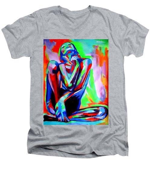 Fervidly Men's V-Neck T-Shirt