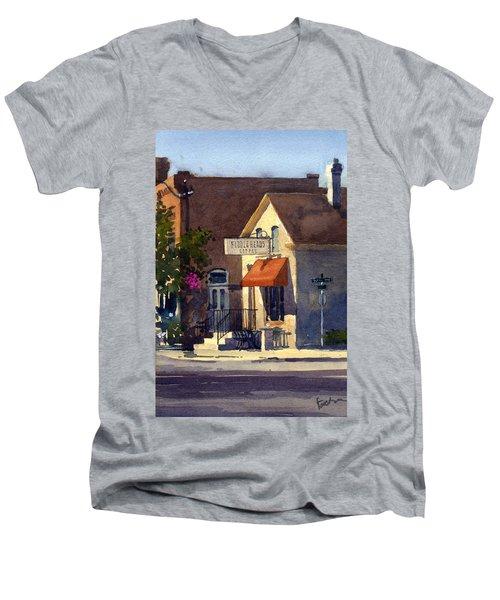 Fiddleheads, Morning Light Men's V-Neck T-Shirt