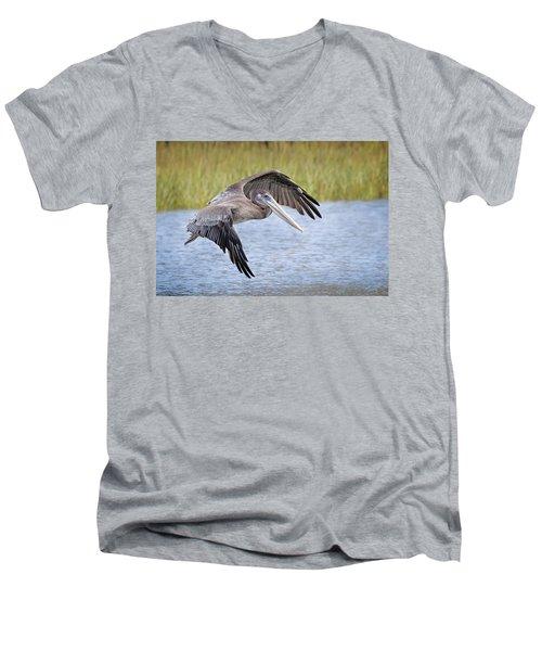 Final Aproach Men's V-Neck T-Shirt