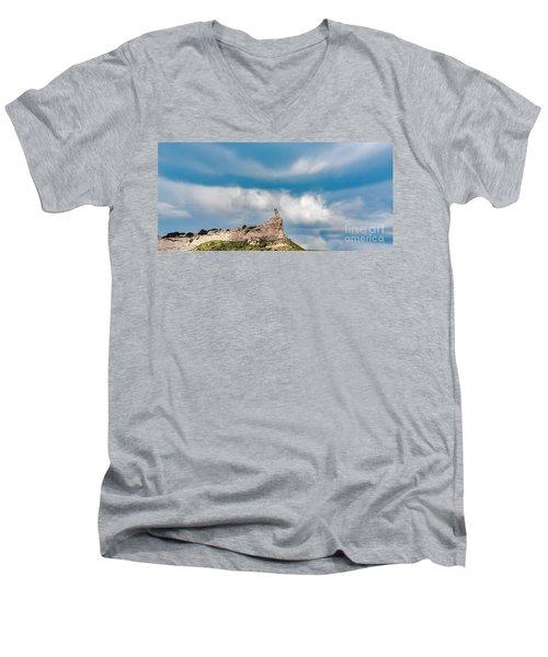 Finger Rock Men's V-Neck T-Shirt