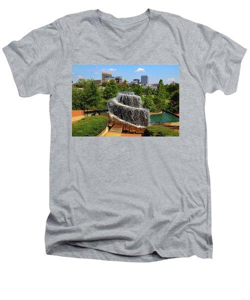 Finlay Park Columbia South Carolina Men's V-Neck T-Shirt