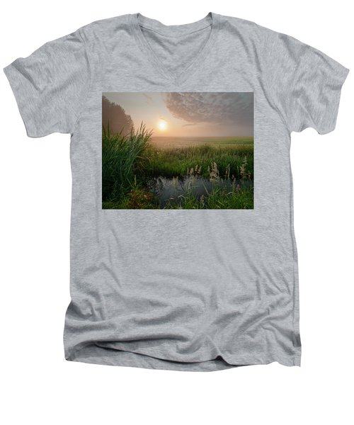First Days Of Autumn Men's V-Neck T-Shirt