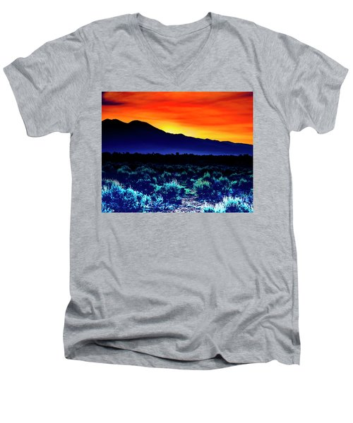 First Light V Men's V-Neck T-Shirt