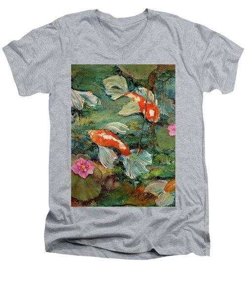 Fishy Tales Men's V-Neck T-Shirt