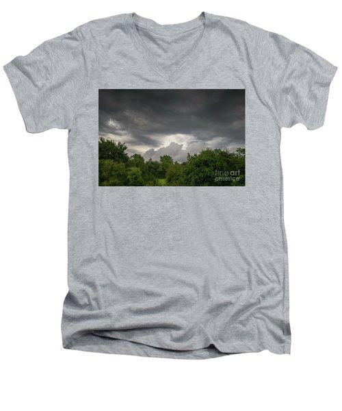 Five Minutes Before Apocalypse Men's V-Neck T-Shirt