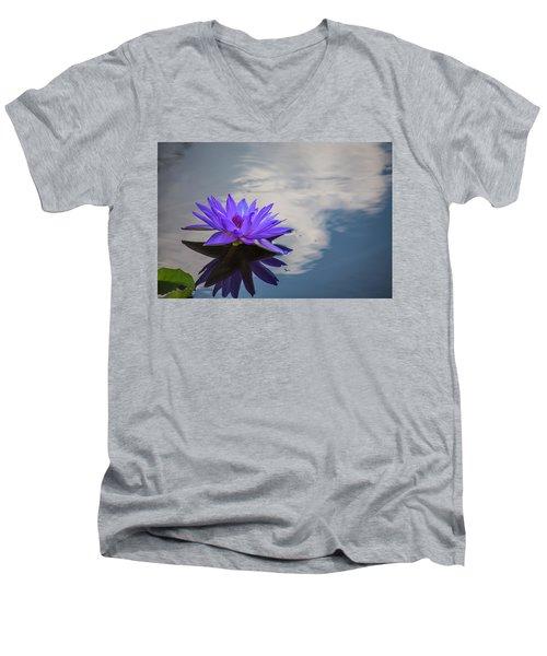 Floating On A Cloud Men's V-Neck T-Shirt