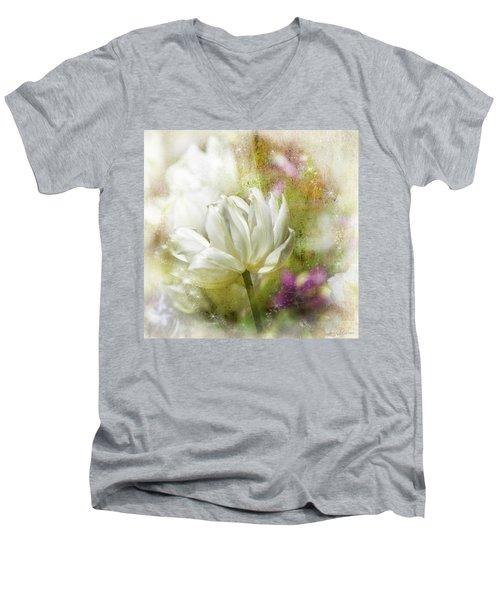 Floral Dust Men's V-Neck T-Shirt