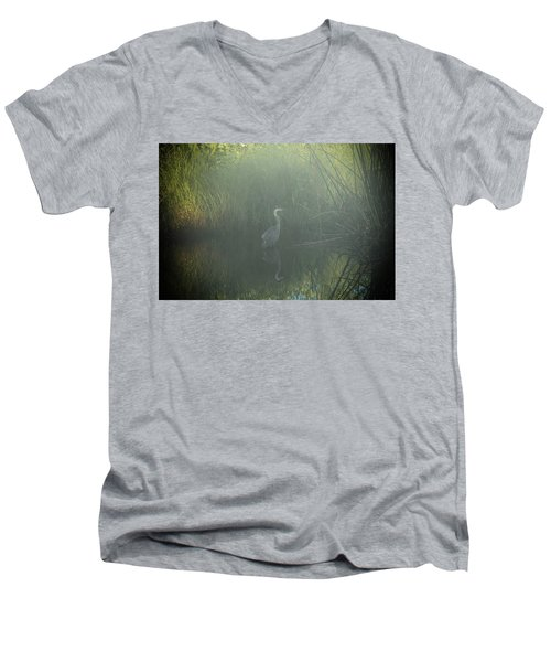 Foggy Morning Men's V-Neck T-Shirt