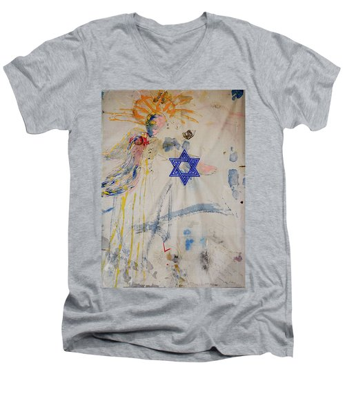 For I Have Longed For Your Love Men's V-Neck T-Shirt