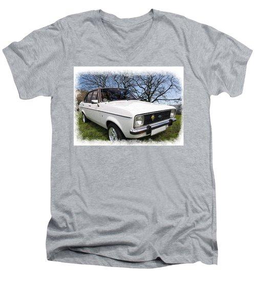 Ford Escort Men's V-Neck T-Shirt
