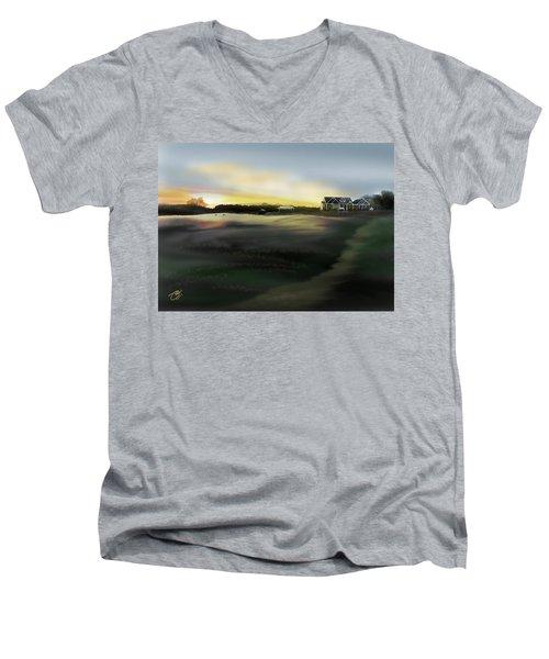 Four Blessings Farm Men's V-Neck T-Shirt