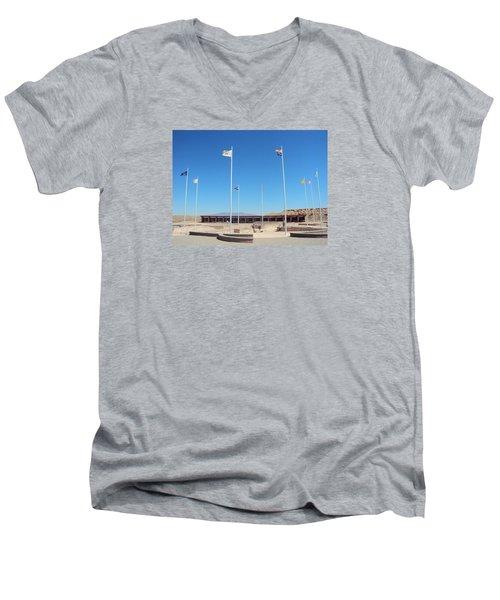 Four Corners Monument Men's V-Neck T-Shirt