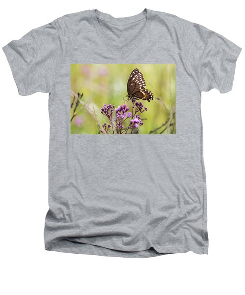 Fragile Wings Men's V-Neck T-Shirt
