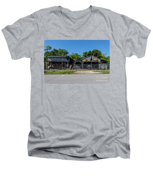Frog Hollow General Store - Augusta Ga Men's V-Neck T-Shirt