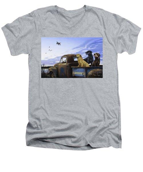 Full Load Men's V-Neck T-Shirt