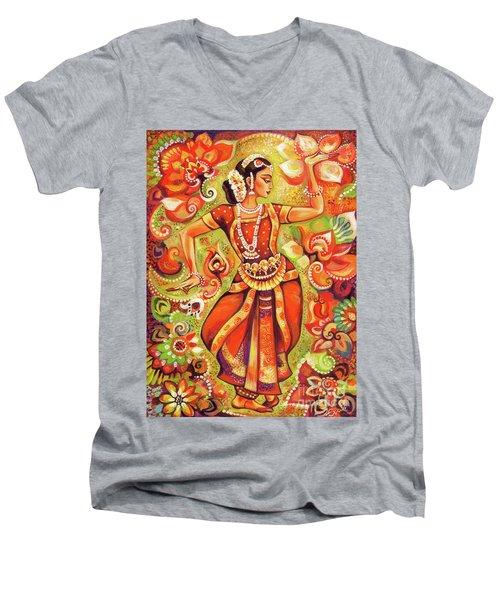 Ganges Flower Men's V-Neck T-Shirt