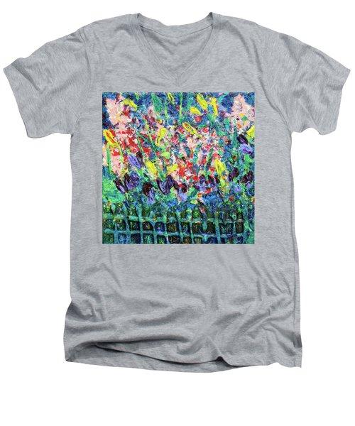 Garden Gems Men's V-Neck T-Shirt