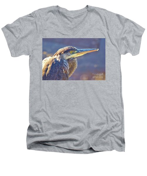 Gbh Waiting For Food Men's V-Neck T-Shirt