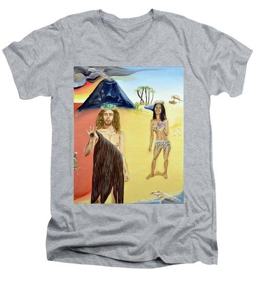 Genesis Men's V-Neck T-Shirt