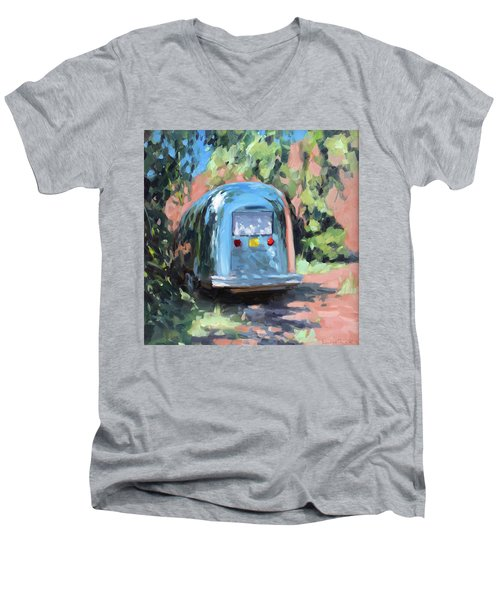Glamping In Dappled Light Men's V-Neck T-Shirt