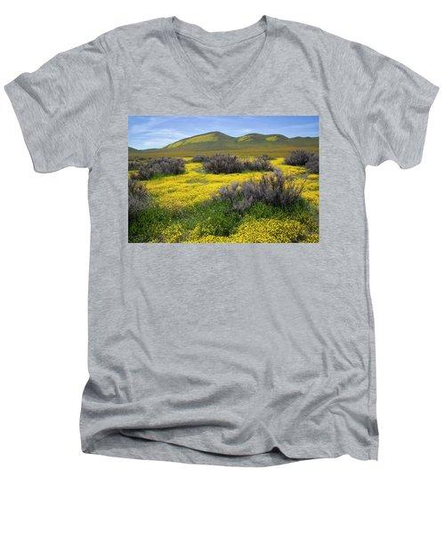 Glorious Color Men's V-Neck T-Shirt