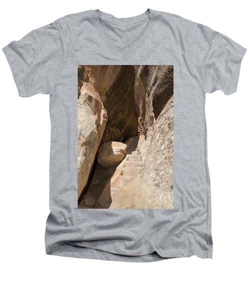 Going Up Men's V-Neck T-Shirt