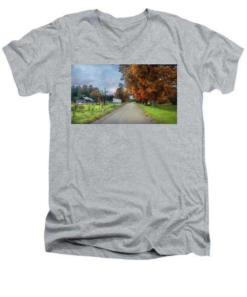 Going Up The Country Men's V-Neck T-Shirt