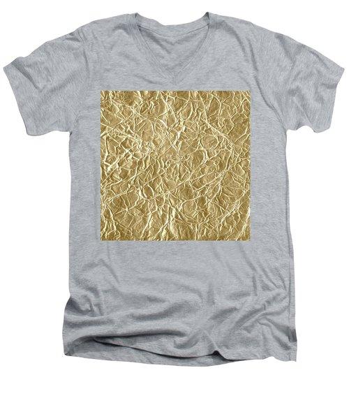 Gold Cute Gift Men's V-Neck T-Shirt