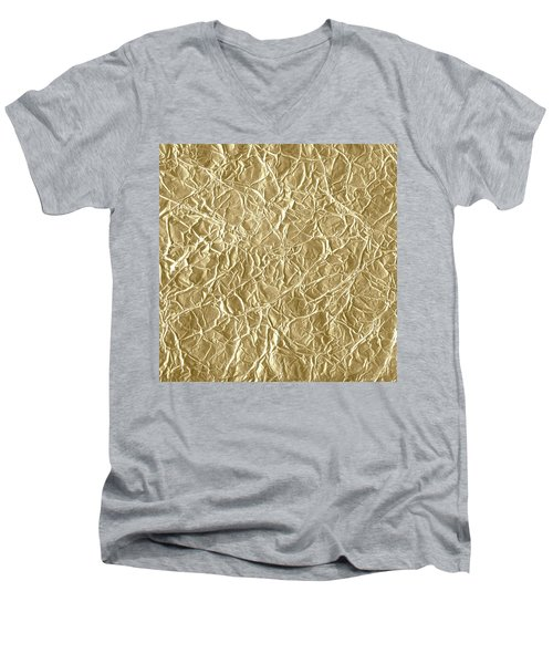 Gold Cute Gift Men's V-Neck T-Shirt