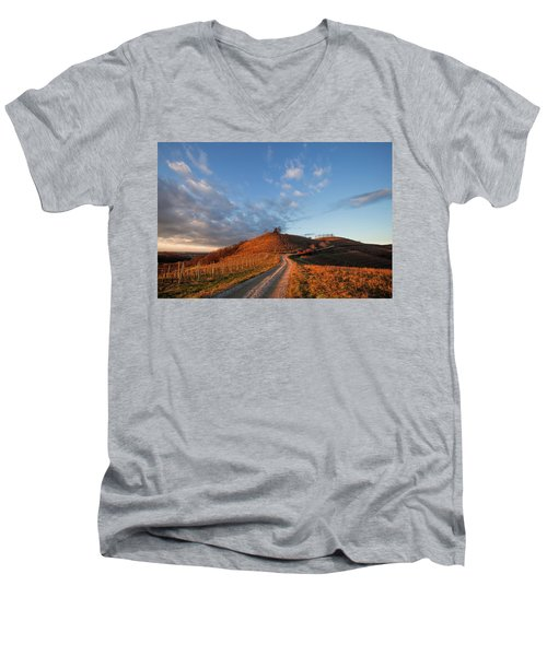 Golden Hill Men's V-Neck T-Shirt