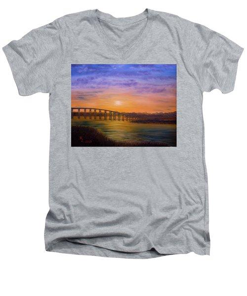 Golden Spirit Men's V-Neck T-Shirt