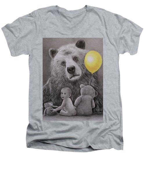 Goldilocks And The Three Bears Men's V-Neck T-Shirt