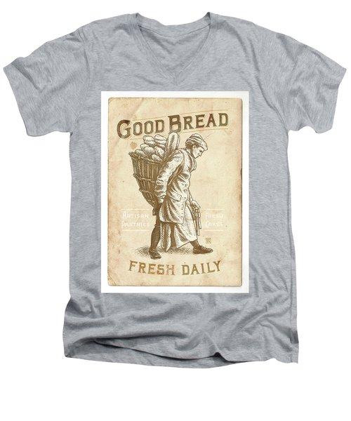 Good Bread Men's V-Neck T-Shirt