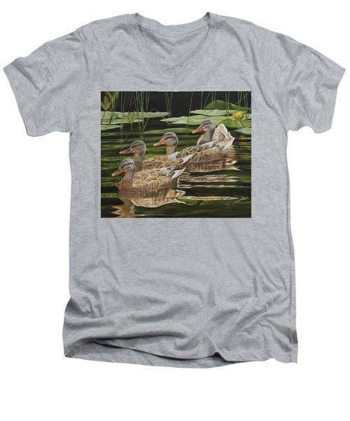 Got My Ducks In A Row Men's V-Neck T-Shirt