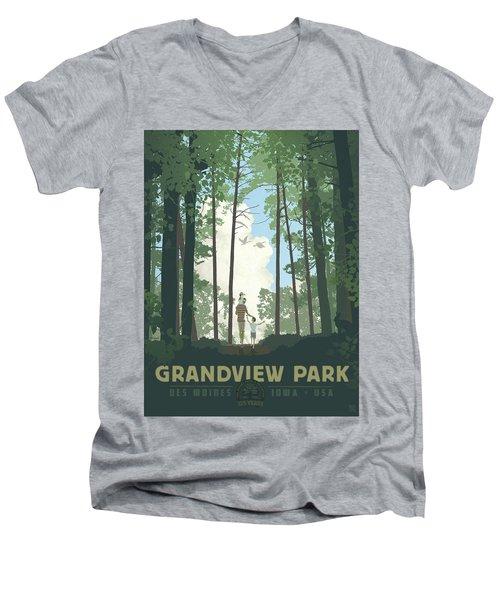 Grandview Park Men's V-Neck T-Shirt