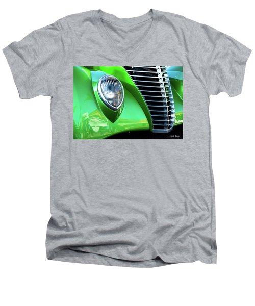 Green Machine Men's V-Neck T-Shirt
