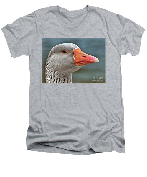 Grey Goose Men's V-Neck T-Shirt